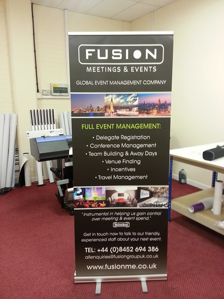 Firefly Budget Banner Stand Cheap Roll Up Banner