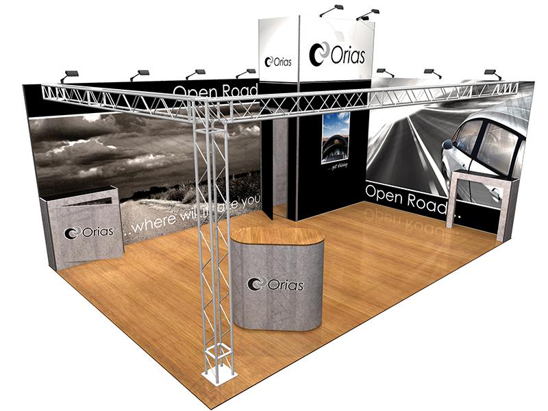 Portable Modular Exhibition Stands : Modular exhibition stands portable